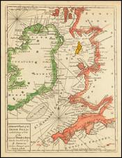 British Isles and Ireland Map By John Gibson