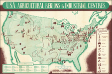 United States Map By Pictorial Charts