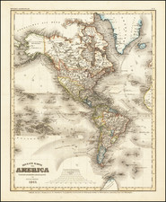 America Map By Joseph Meyer