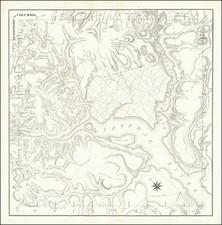 Washington, D.C. Map By Andrew Ellicott / A. Boyd Hamilton