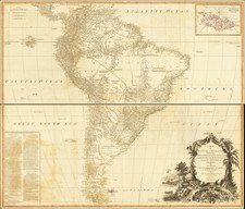 A Map of South America Containing Tierra-Firma, Guayana, New Granada, Amazonia, Brasil, Peru, Paraguay, Chaco, Tucuman, Chil and Patagonia from Mr. D'Anville with Several Improvements and Additions, and The Newest Discoveries.  . . .1794 By Robert Sayer