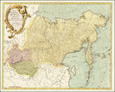 Russia in Asia Map By Johannes Treskot