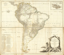 South America Map By Robert Sayer
