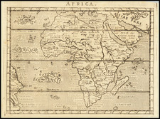 Africa Map By Giovanni Antonio Magini