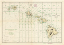Hawaii, Hawaii and World War II Map By U.S. Coast & Geodetic Survey