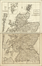 Scotland Map By Andrew Johnston