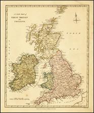 British Isles Map By Robert Wilkinson
