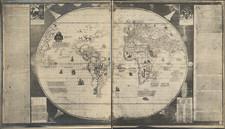 World Map By Edward Luther Stevenson / Sebastian Cabot