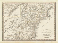 United States, Mid-Atlantic, Southeast and Midwest Map By Anonymous