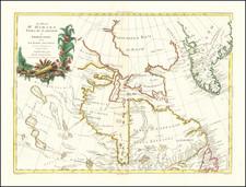 Polar Maps and Canada Map By Antonio Zatta