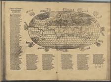 World Map By Francesco Rosselli