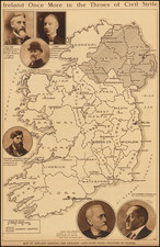Ireland Map By Anonymous