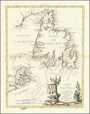 Canada Map By Antonio Zatta