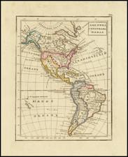 America Map By Fyodor Poznyakov  &  Konstantin Arsenyev  &  S.K. Frolov