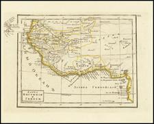 West Africa Map By Fyodor Poznyakov  &  Konstantin Arsenyev  &  S.K. Frolov