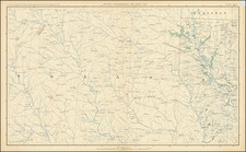 Louisiana and Texas Map By United States GPO