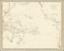 Pacific Ocean and Pacific Map By SDUK