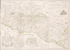 Holy Land Map By Juan Peñalver