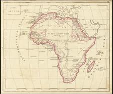 Africa Map By Fyodor Poznyakov  &  Konstantin Arsenyev  &  S.K. Frolov