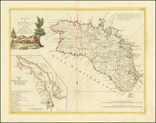 Balearic Islands Map By Antonio Zatta