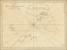 Indian Ocean and African Islands, including Madagascar Map By Robert Sayer
