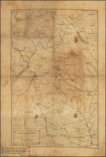 South and Georgia Map By William E. Merrill  &  William C. Margedant