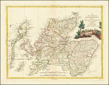 Scotland Map By Antonio Zatta