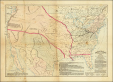 United States Map By Asher & Adams