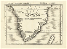 Africa and South Africa Map By Martin Waldseemüller
