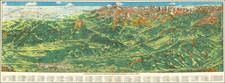 Colorado, Rocky Mountains, Colorado and Pictorial Maps Map By Ralph Carlyle  Prather