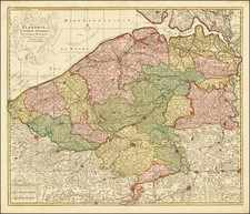 Belgium Map By Reiner & Joshua Ottens