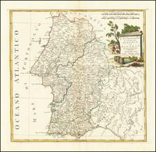 Portugal Map By Antonio Zatta