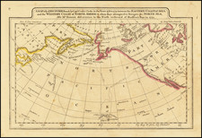 A Map of the Discoveries made by Captn.s Cook & Clerke in the Years 1778 & 1779 between the Eastern Coast of Asia and the Western Coast of North America . . . . Also Mr. Hearn's discoveries to the North westward of Hudson's Bay, in 1772. By Mathew Carey