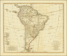South America Map By Carrington Bowles  &  Jonathan Carver