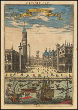 Venice Map By Alain Manesson Mallet