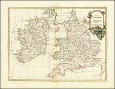 British Isles Map By Antonio Zatta