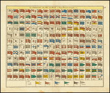 Curiosities Map By George Louis Le Rouge