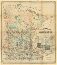 Minnesota Map By G. Jay Rice