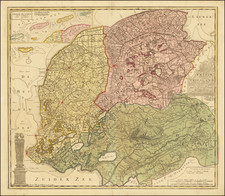 Netherlands Map By Francois Halma