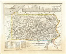 Pennsylvania Map By Joseph Meyer