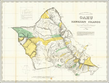 Hawaii and Hawaii Map By Hawaiian Government Survey / Richard Covington