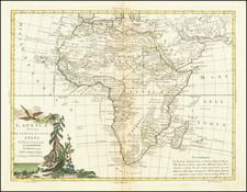 Africa Map By Antonio Zatta