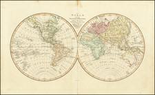 World Map By Robert Wilkinson