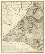New York City Map By John Montresor