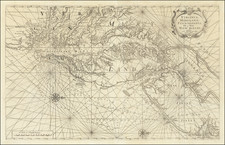 Mid-Atlantic, Maryland, Delaware, Southeast and Virginia Map By William Mount  &  Thomas Page
