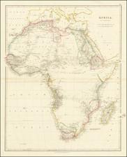 Africa Map By John Arrowsmith
