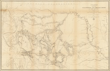Plains, Nebraska, North Dakota, South Dakota, Rocky Mountains, Idaho, Montana and Wyoming Map By W.F. Raynolds
