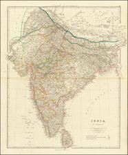 India Map By John Arrowsmith