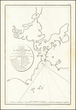 San Francisco & Bay Area Map By Jean Francois Galaup de La Perouse / G. Robinson