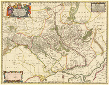 Russia and Ukraine Map By Moses Pitt
